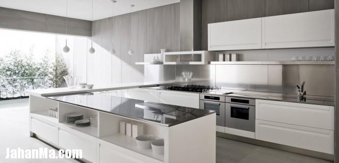 کابینت آشپز خانه کاخ سفید آمریکا مدل دکوراسیون داخلی - دکوراسیون جدید آپارتمان