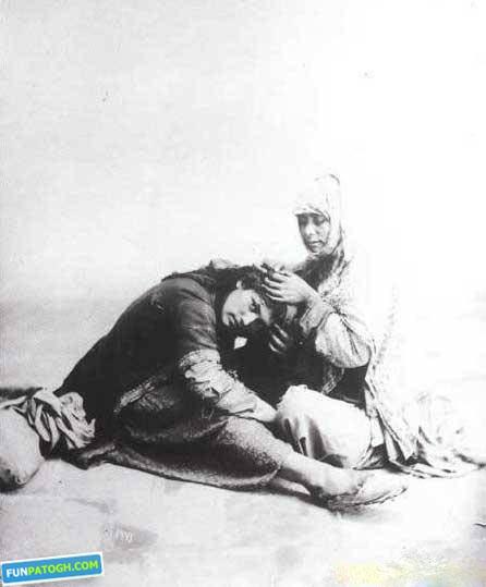 ارایشگر قدیم قاجار
