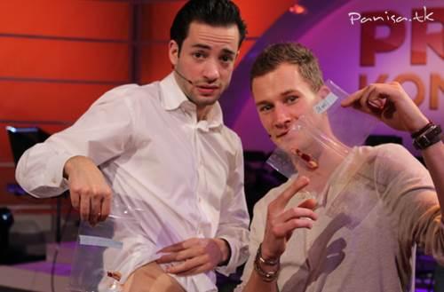 دو مجری هلندی گوشت یکدیگر را خوردند!+عکس