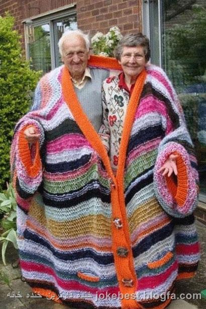 زن و شوهر خنده دار+عکس