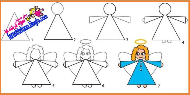 پیش دبستانی نمونه (سه ستاره) فرشته ها - نقاشی گوزن کریسمس