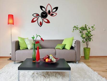 ساعت دیواری گلبرگ