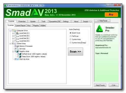 دانلود آنتی ویروس Smadav 9.5.1 + سریال و Keygen