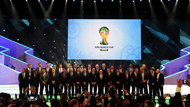 برنامه کامل ديدارهاي گروهي جام جهاني 2014