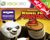 بازی پاندای کونگ فو کار 2 - Kung Fu Panda 2 برای XBOX 360