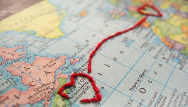 فاصله بین من و شهر شما یک وجب است  نقشه ها وقتی از این فاصله ها می کاهند