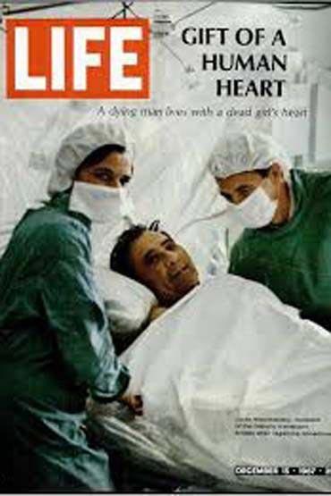 مطالب داغ: نخستین عمل پیوند قلب جهان