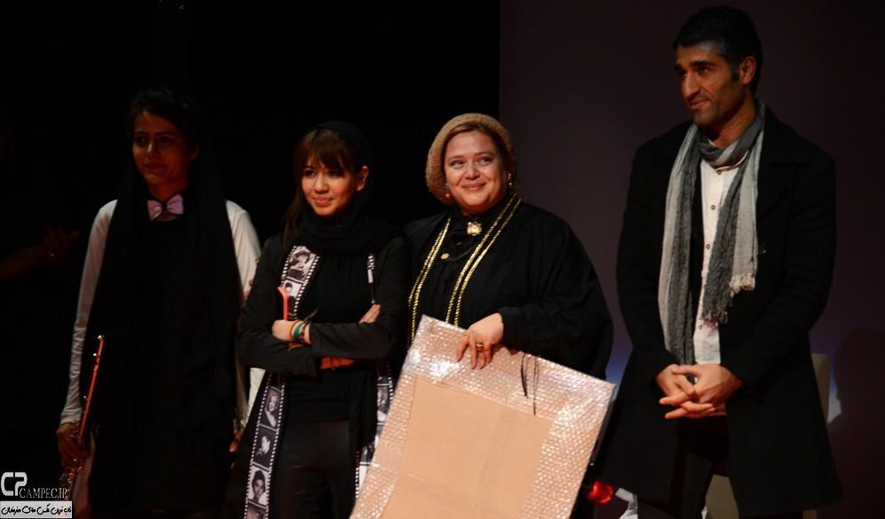 عکس های پژمان جمشیدی و بهاره رهنما در تئاتر