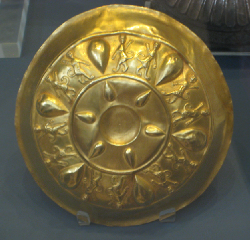 عکس ظروف طلایی