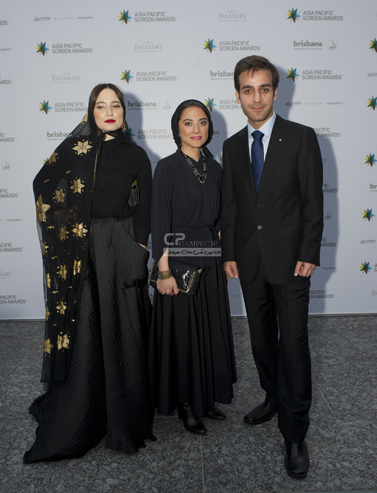عکس های نگار جواهریان در جشنواره آسیا پاسیفیک