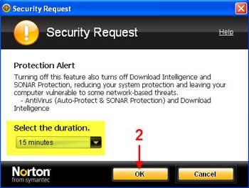 dis norton 02 آموزش تصویری غیر فعال کردن آنتی ویروس Norton