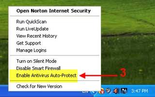dis norton 03 آموزش تصویری غیر فعال کردن آنتی ویروس Norton