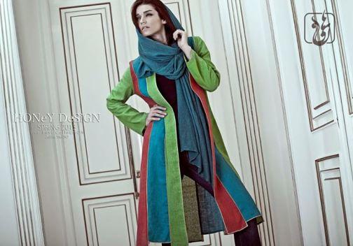 زیباترین مدل مانتو ایرانی ماركدار در سال جدید