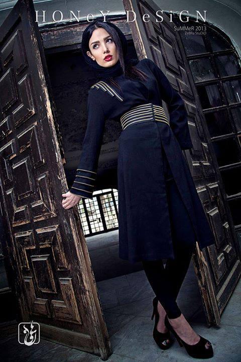 عکس از مدل مانتو ژورنال