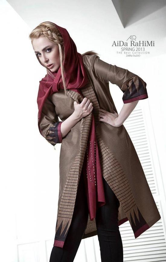 عکس مدلهای مانتو
