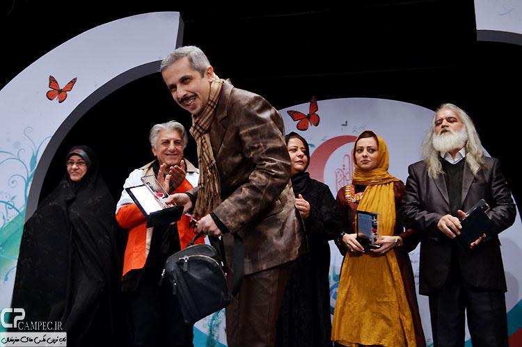 عکس های بازیگران در مراسم تقدیر از داوطلبان برگزیده هلال احمر