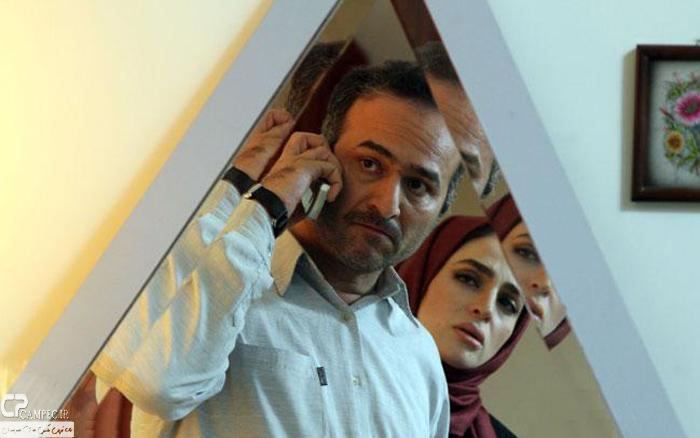 عکس های آخرین حضور عسل بدیعی در تله فیلم «خانه پدرم»