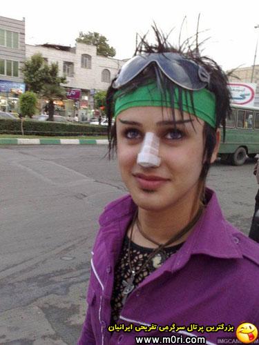 عکس دختر خوشگل ایرانی تهرانی