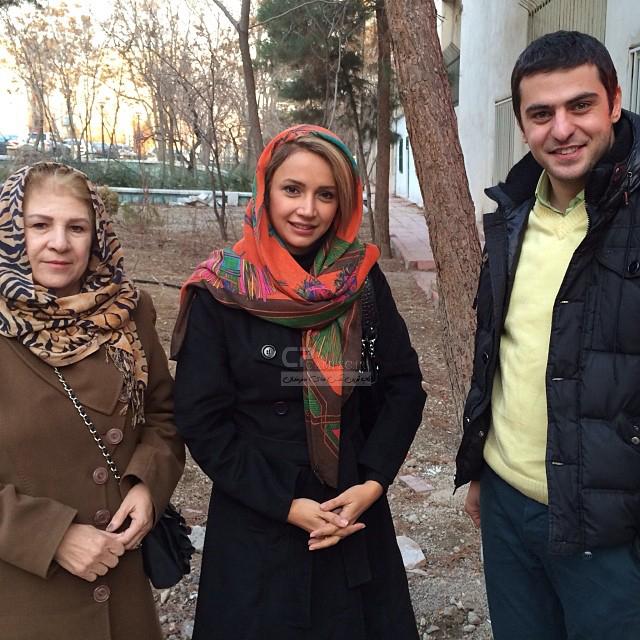 شبنم قلی خانی و مادرش و علی ضیاء