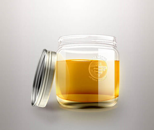 لایه باز شیشه عسل
