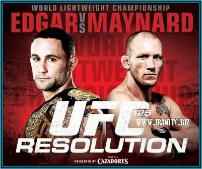دانلود یو اف سی 125 | UFC 125: Edgar vs. Maynard