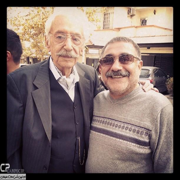 خسرو احمدی و جمیشد مشایخی