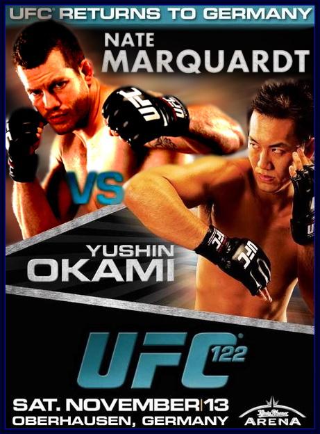 دانلود یو اف سی 122 | UFC 122: Marquardt vs. Okami