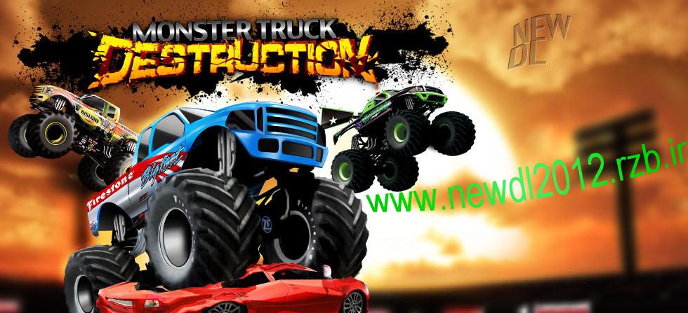 دانلود بازی کم حجم Monster Truck Destruction