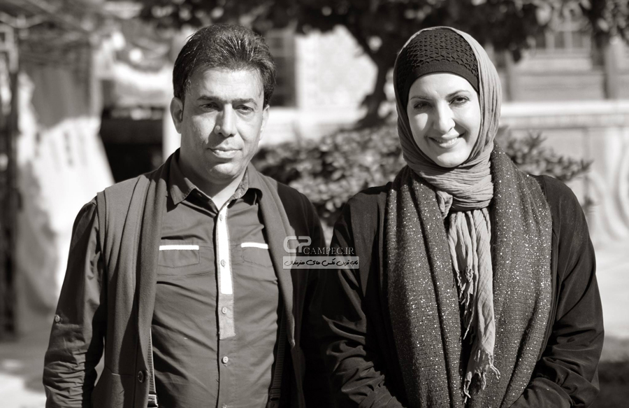 عکس های فاطمه گودرزی و لاله صبوری در پشت صحنه برنامه خوشا شیراز