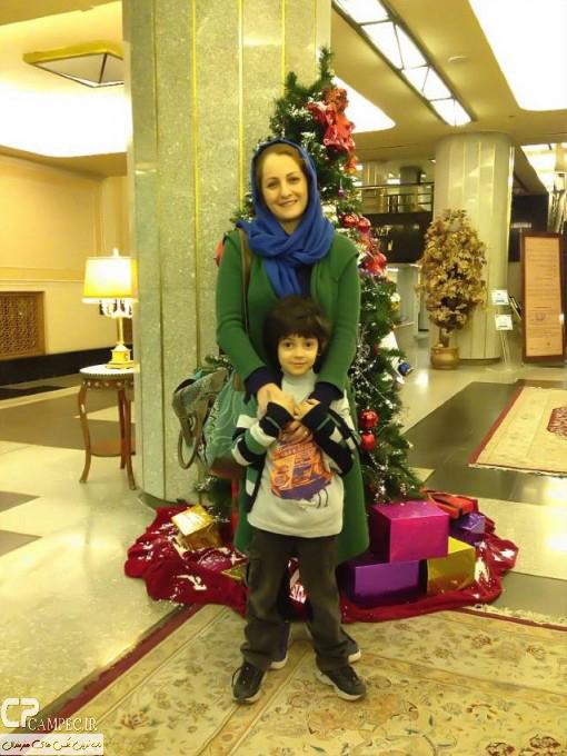 عکس های جدید شقایق دهقان به همراه همسر و فرزندش