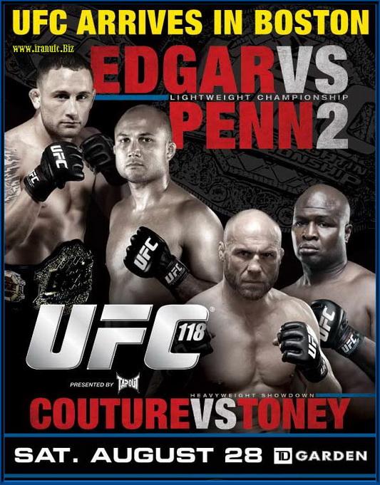 دانلود یو اف سی 118 | UFC 118: Edgar vs. Penn 2