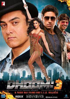 Dhoom 3 2013 480p DVDSCR V3 799MB hamhame دانلود رایگان فیلم Dhoom 3 2013