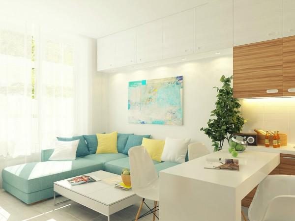 طراحی منزلی کوچک با متراژ 29 متر مربع