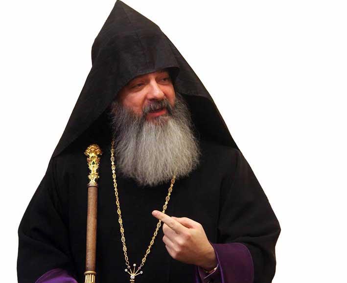 جناب اسقف گريگور  چيفتجيان خليفه معزز  کل ارامنه آذربايجان