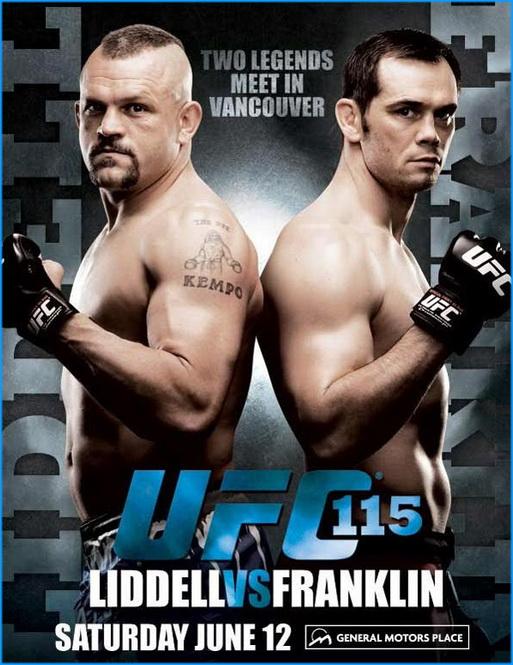 دانلود یو اف سی  UFC 115: Liddell vs. Franklin |115