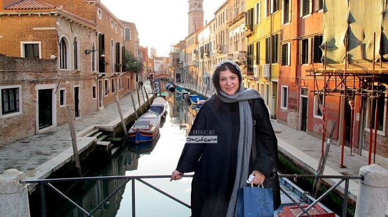 عکس های جدید نگار جواهریان و ریما رامین فر در ونیز ایتالیا