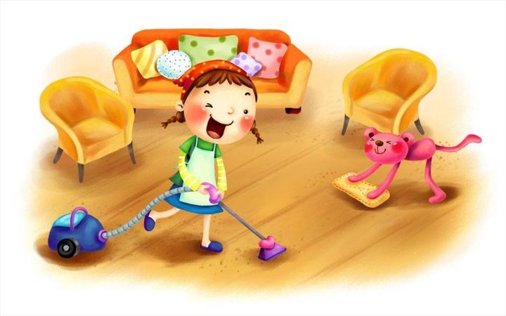 Картинка уборка дома