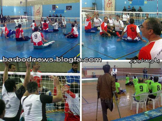 مسابقات والیبال نشسته در جهرم
