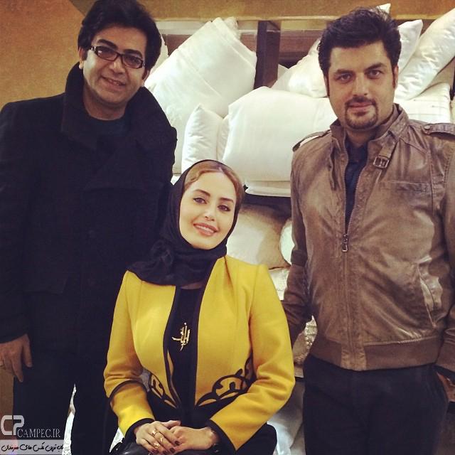 عکس جدید الناز شاکردوست و فرزاد حسنی و سام درخشانی