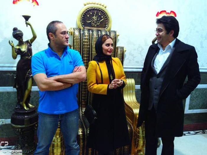 عکس جدید الناز شاکردوست و رامبد جوان و فرزاد حسنی
