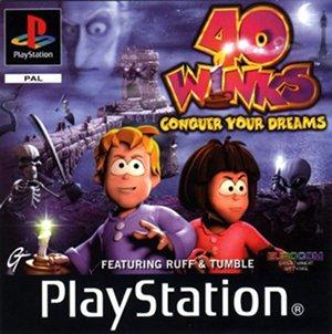 بازی خاطره انگیز 40 winks