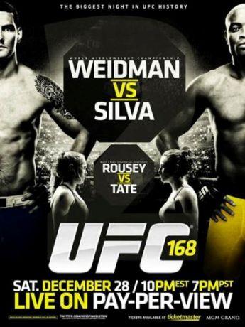 دانلود یو اف سی 168   UFC 168 : Weidman vs. Silva 2