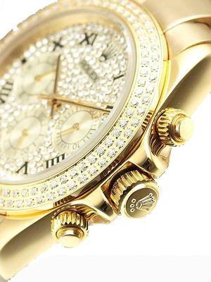 خرید ساعت مچی زنانه رولکس نگین دار Rolex