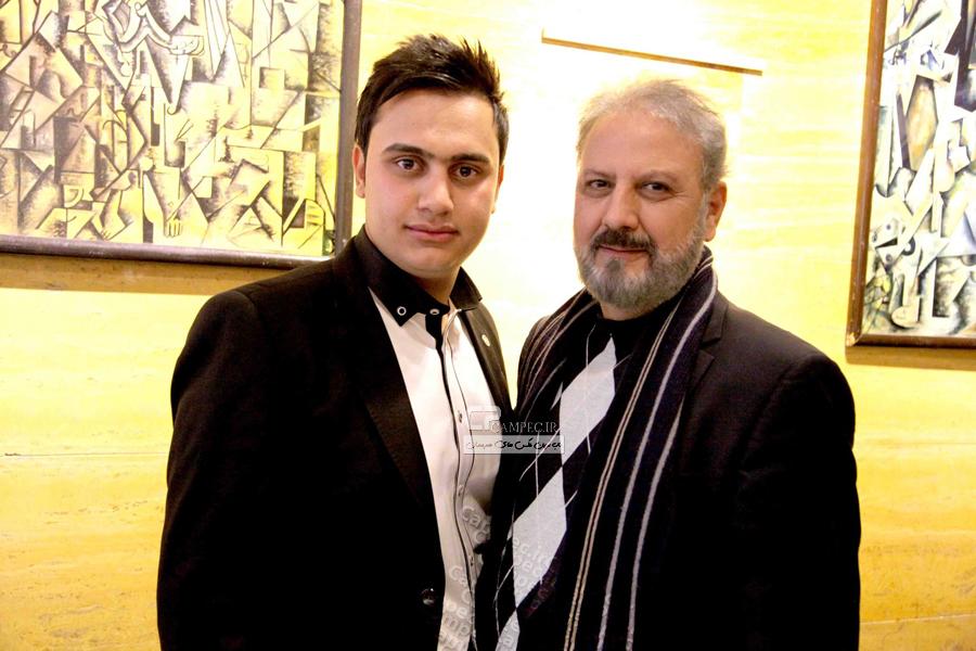 جلیل فرجاد و سجاد منصوری در پشت صحنه خوشا شیراز