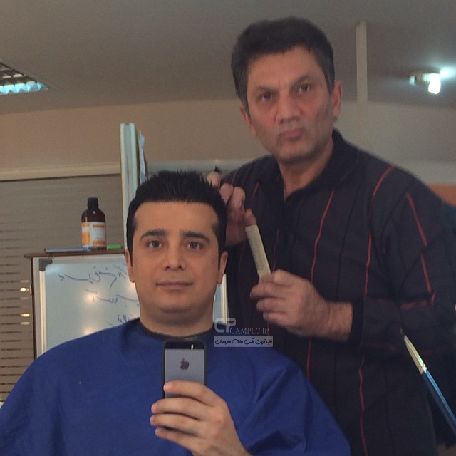 عکس جدید سپند امیر سلیمانی