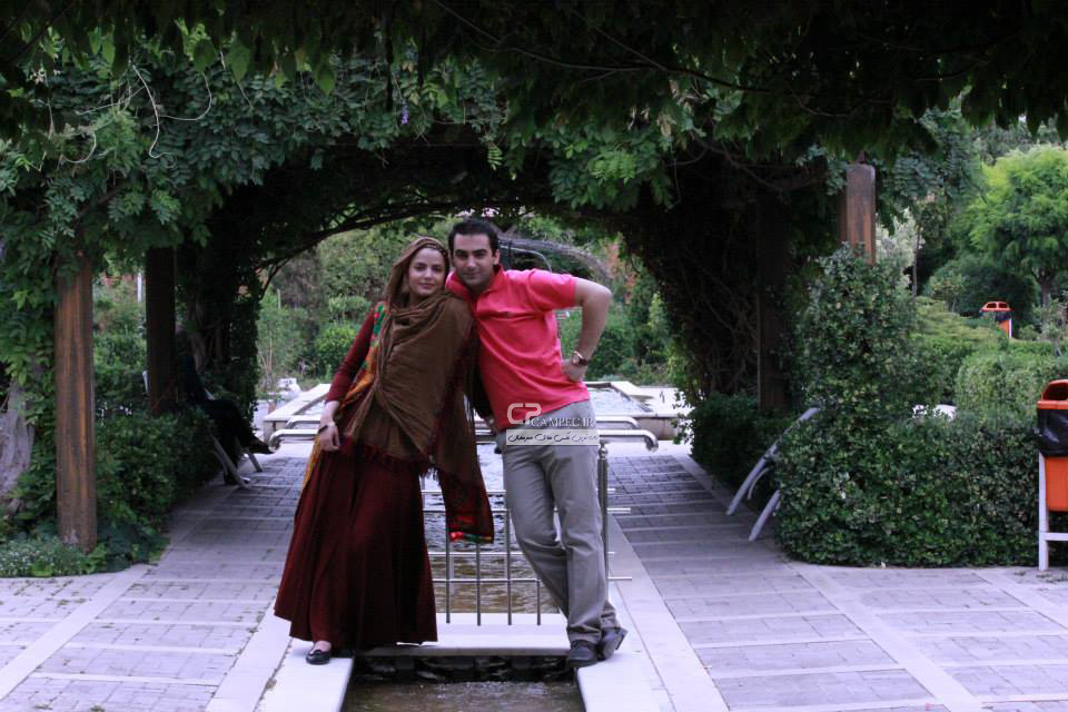 سپیده خداوردی و همسرش