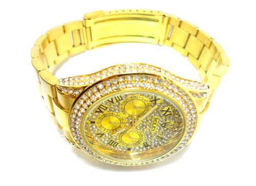 خرید ساعت مچی رولکس طلایی مردانه