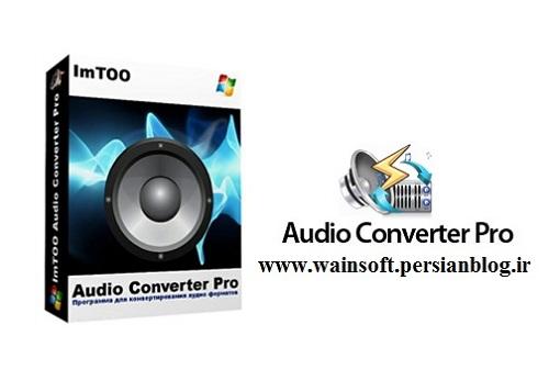 دانلود نرم افزار ImTOO Audio Converter Pro