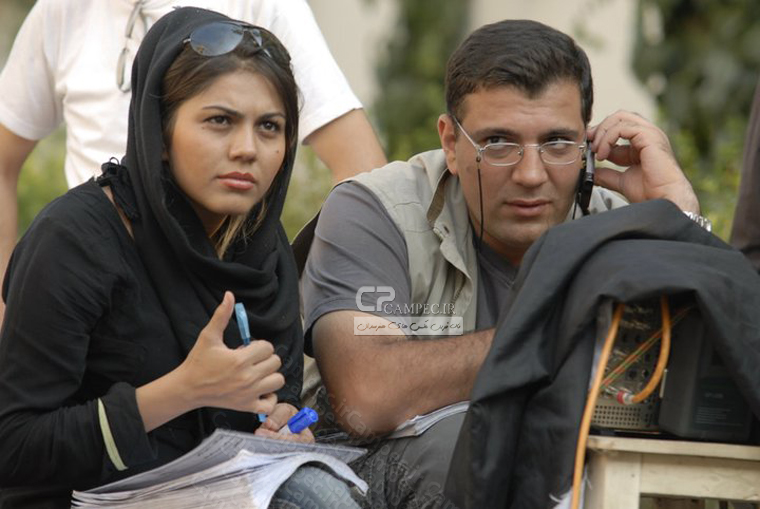 آزاده زارعی بازیگر سریال آوای باران
