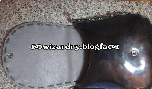 دوخت کیف چرمی